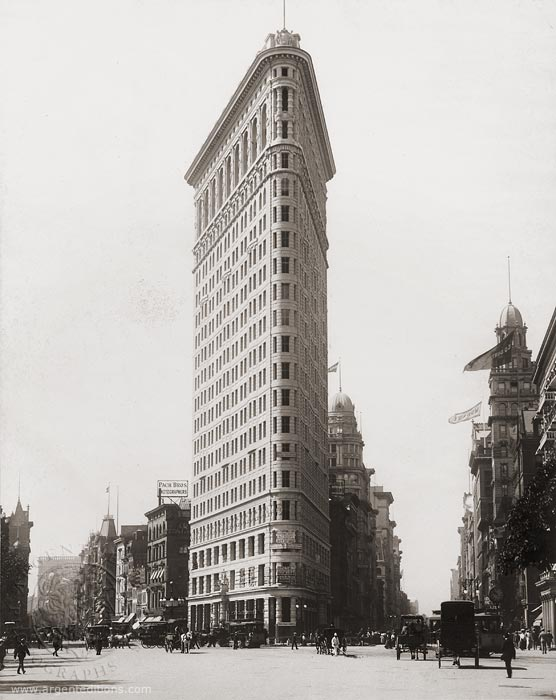 What Triangular Building In Ny Was The First City Skyscraper