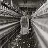 Little Spinner Girl in Globe Cotton Mill