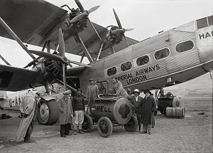 Aircrafts etc. of Imperial Airways Ltd.